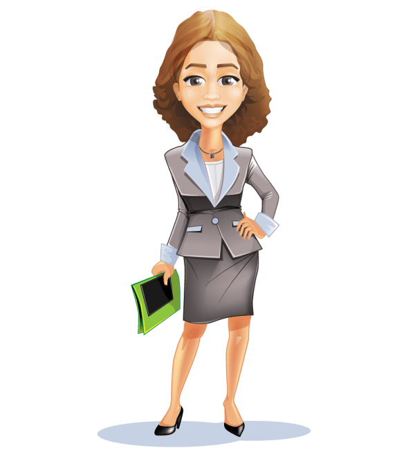 professional business woman clipart
