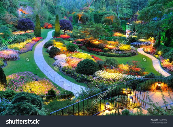 Butchart Gardens Clipart - Clipground