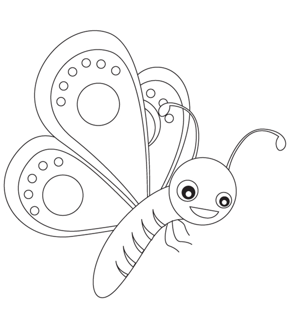 Butterfly Clipart Coloring 20 Free Cliparts