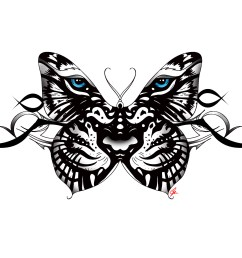 clipart black and white 25 best ideas about white butterfly tattoo on pinterest  [ 2400 x 1800 Pixel ]