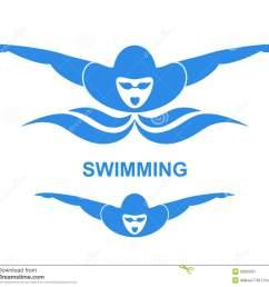 swimmer stock illustrations  [ 1300 x 1159 Pixel ]