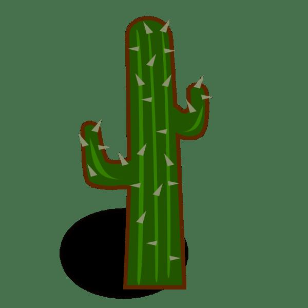 Cartoon Cactus Clip Art