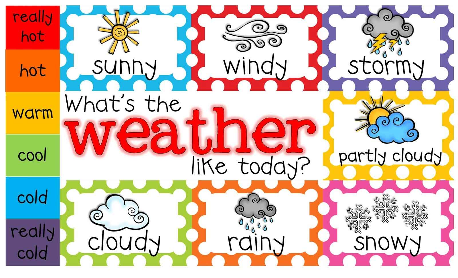 Calendar Weather Clipart For Teachers