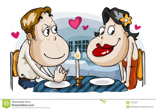 candle light dinner clipart 20