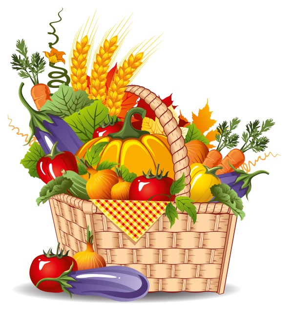 market fresh vegetables clipart