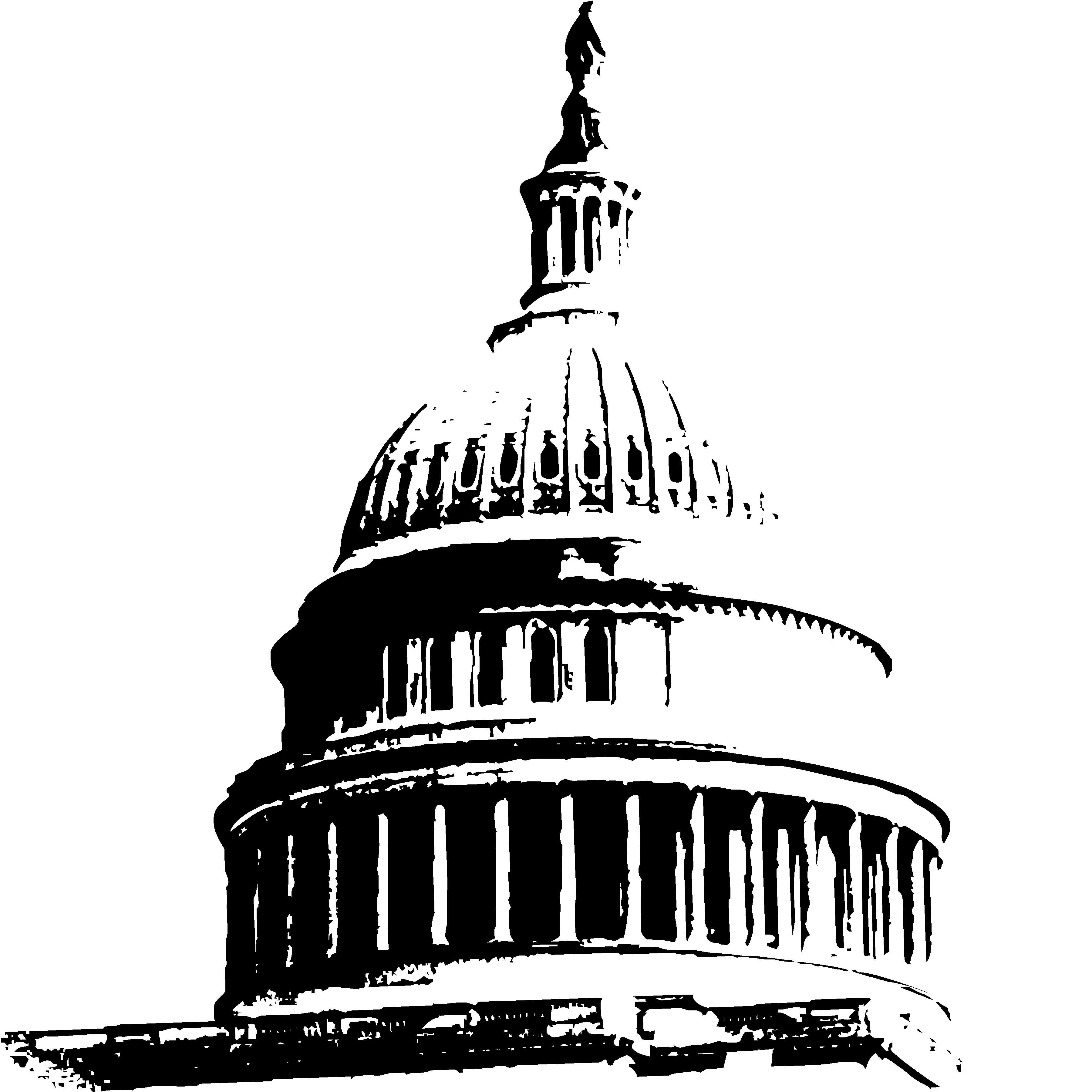 Capitol Buildings Clipart