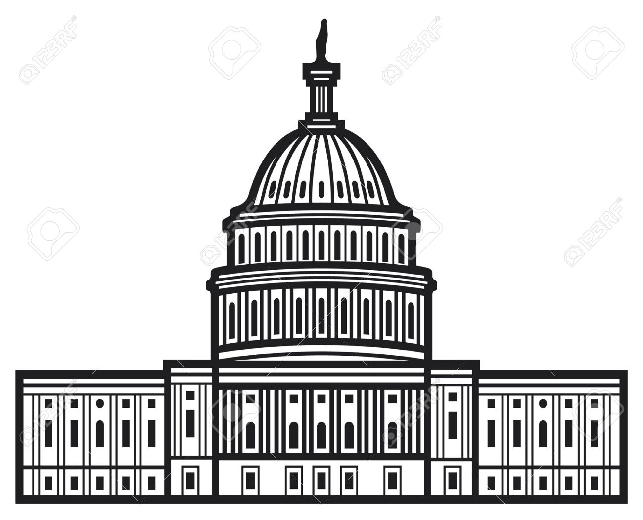 Capitol Buildings Clipart 20 Free Cliparts
