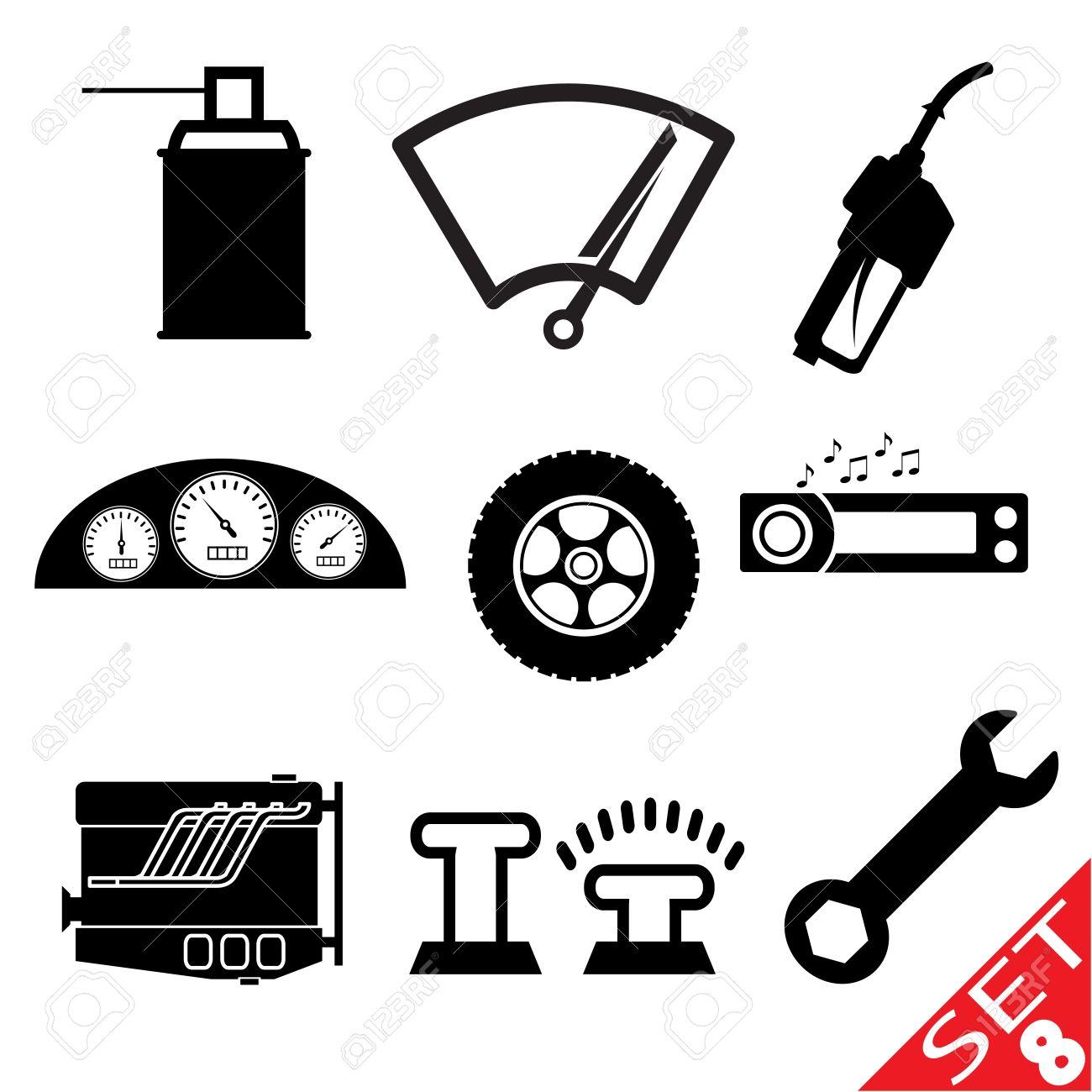 Car Accessories Clipart