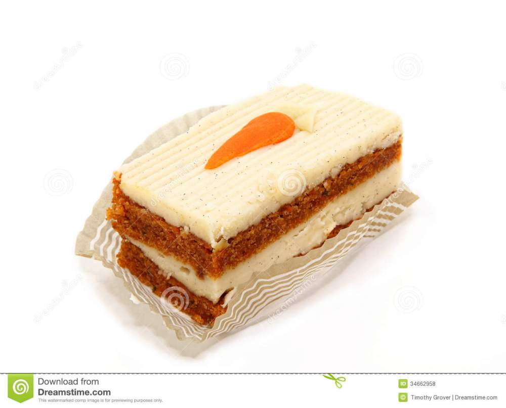 medium resolution of slice of carrot cake isolated on white royalty free stock photos
