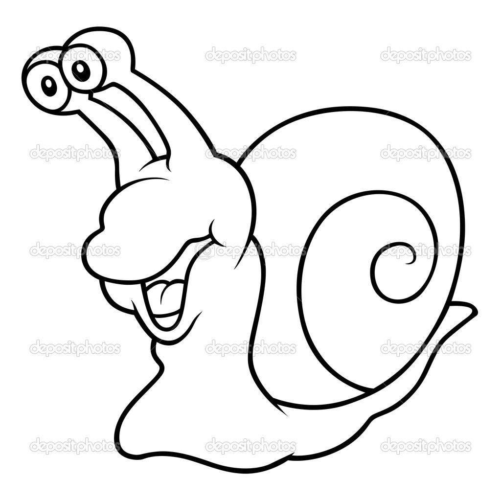 Cartoon Animal Clipart Snail