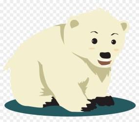 bear polar clipart cartoon clipground