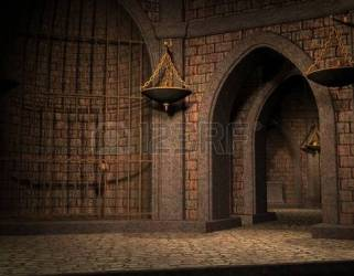 castle cell background cellar clipart 3d prison clipground royalty rendering