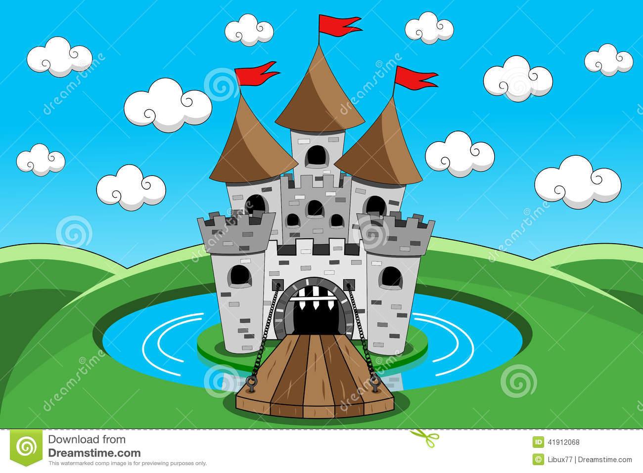 Castle Moat Clipart
