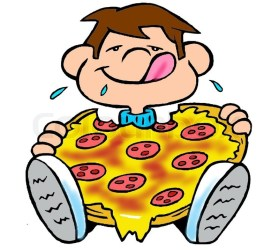 pizza eating cat clipart clipground celebrate