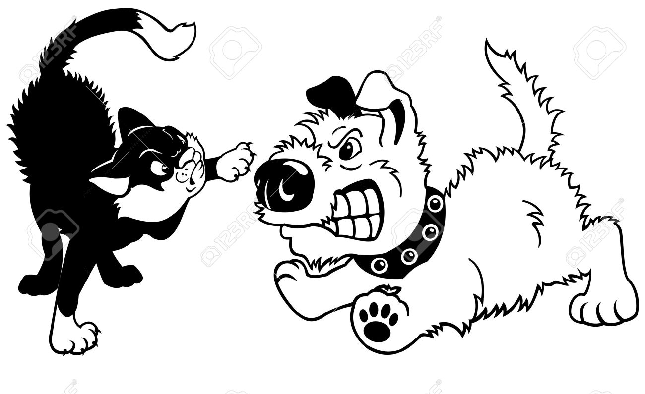 Cat Fight Clipart 20 Free Cliparts