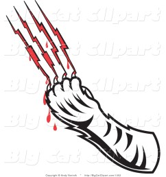 cat claw marks clipart  [ 1024 x 1044 Pixel ]