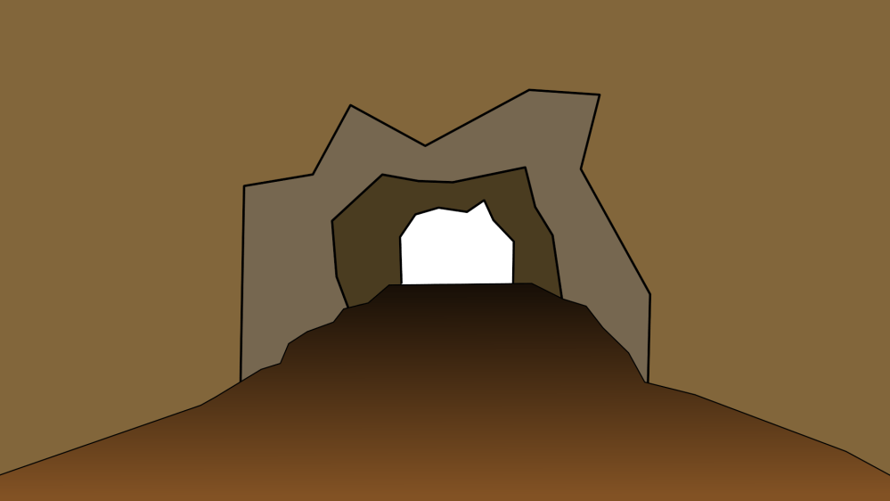medium resolution of showing post media for cave opening cartoon