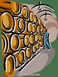 wine cellar clipart barrels clip vector food clipground illustration royalty