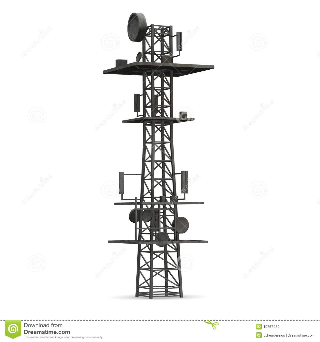 Cell Tower Clipart