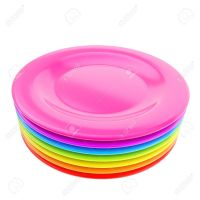 Color Plastic Plates & 7 Plastic Plates Color Creative ...