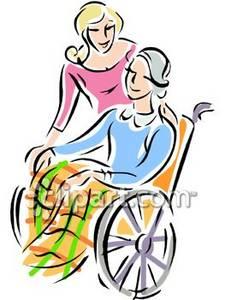 Wheelchairbound clipart  Clipground