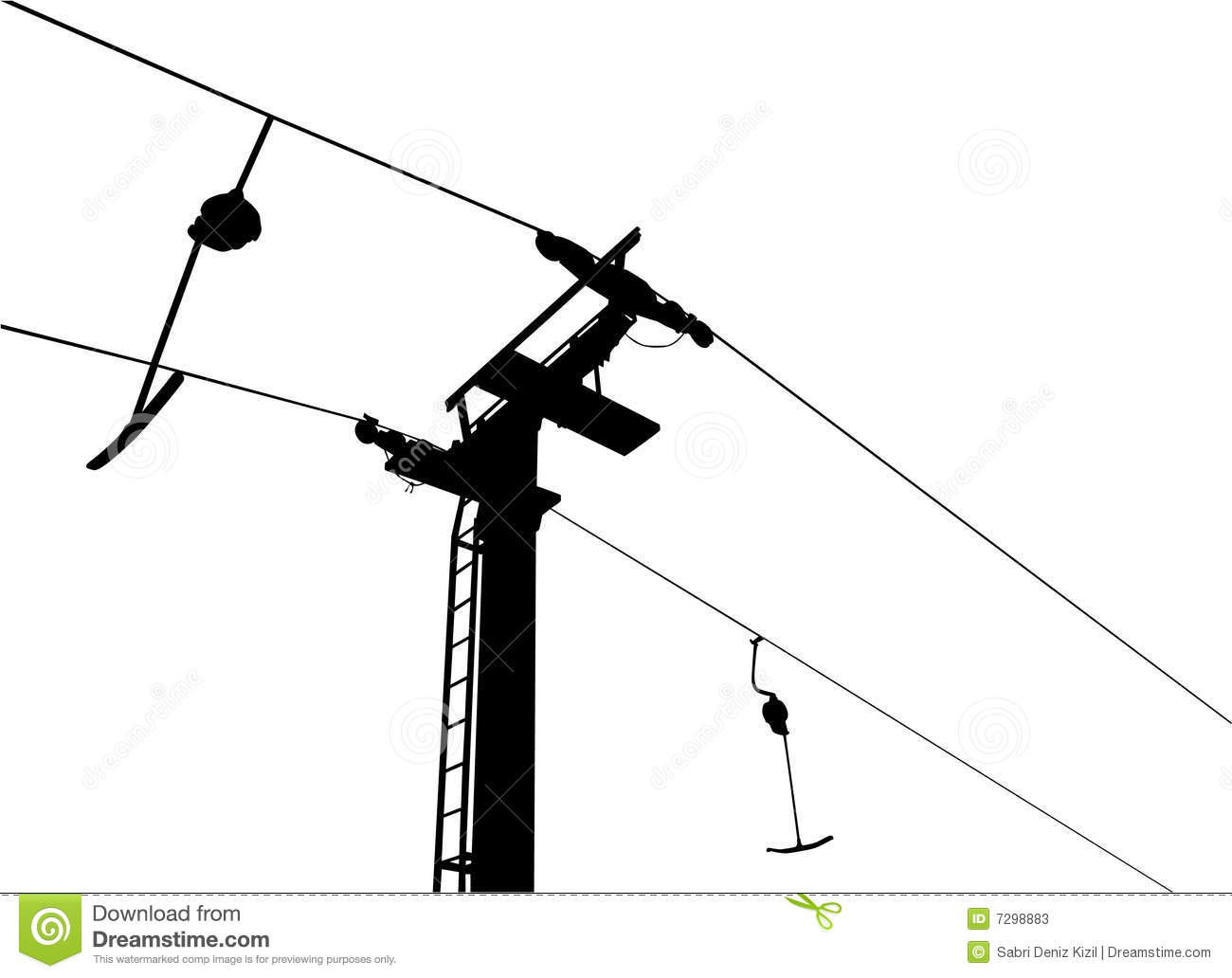 Chairlift Clipart