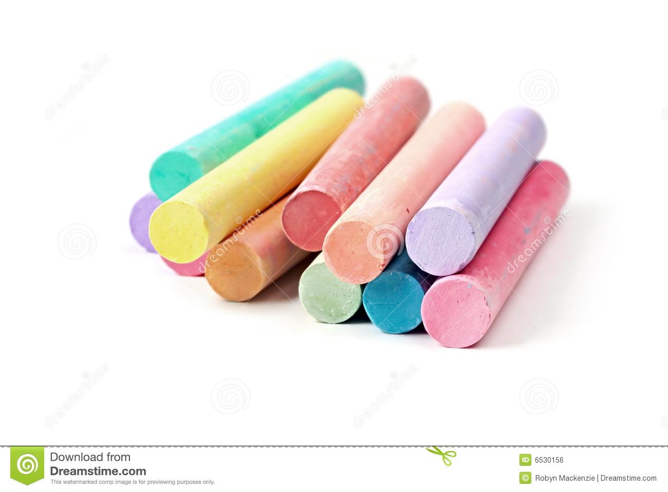 Pastel Chalk Clipart