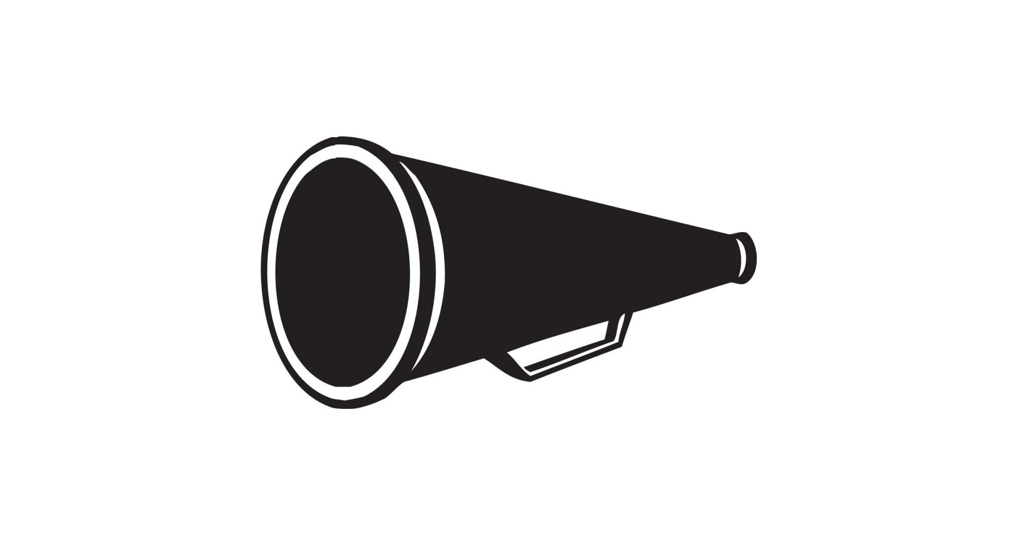 hight resolution of cheer megaphone cheerleader megaphone clipart cheerleading