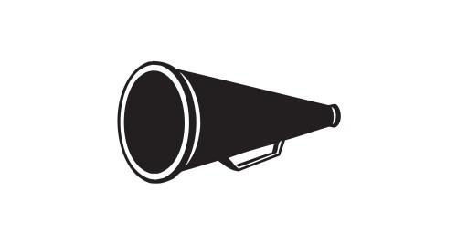 small resolution of cheer megaphone cheerleader megaphone clipart cheerleading