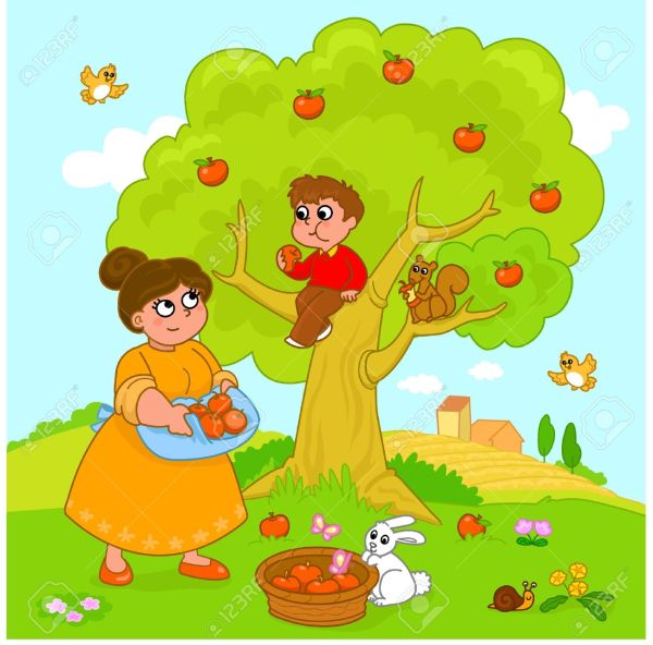 cherry picking clipart - clipground