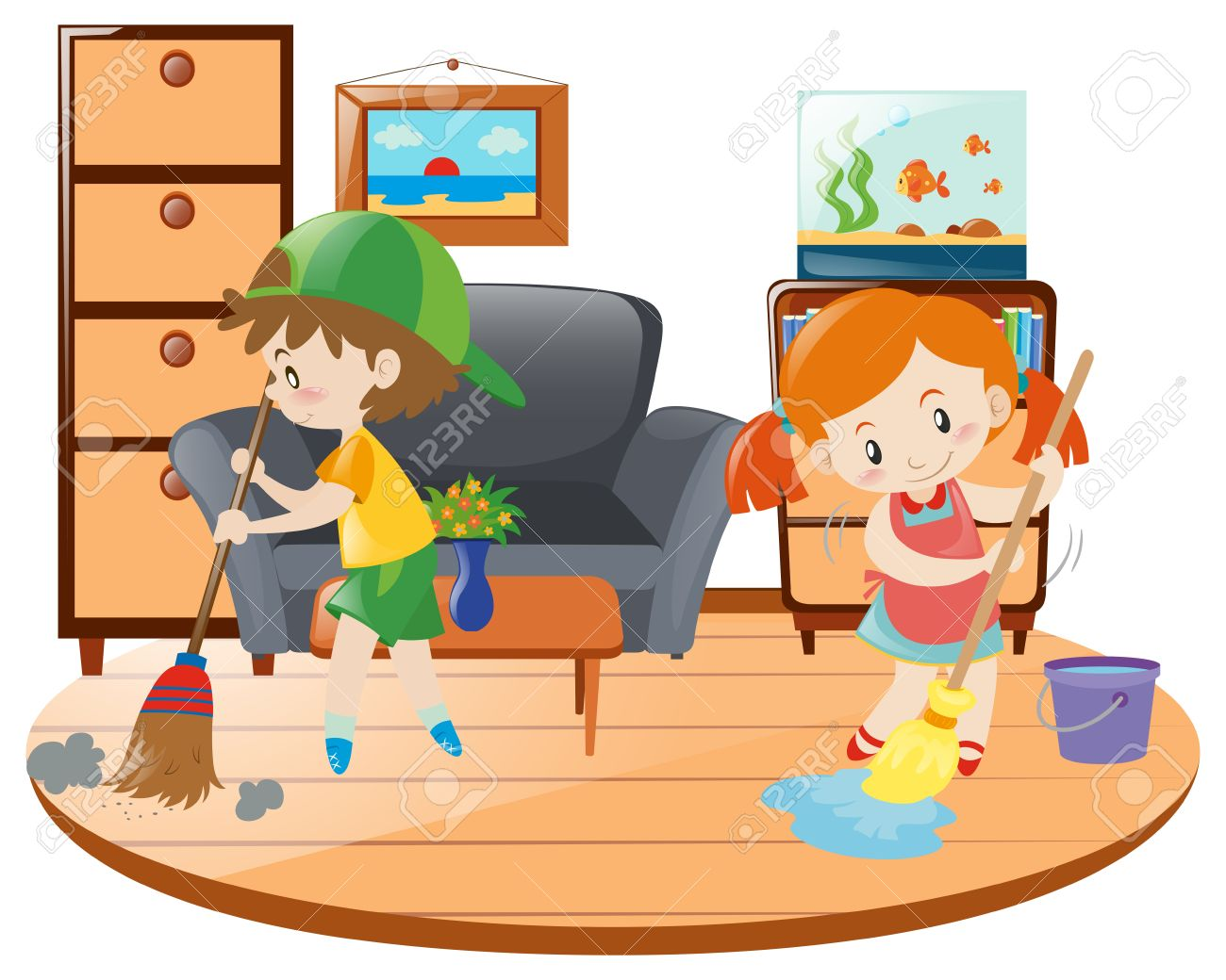 Child Cleaning Clipart 10 Free Cliparts