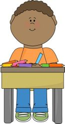 clipart doing nicely student children clip working clipground