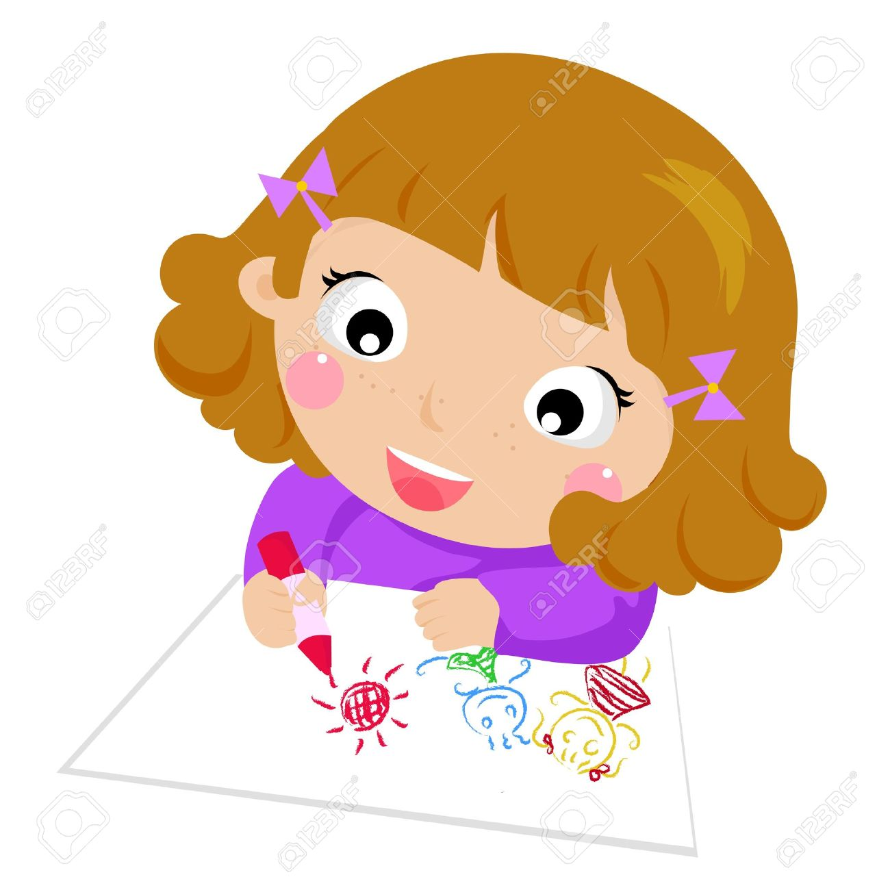 Children S Drawings Clipart