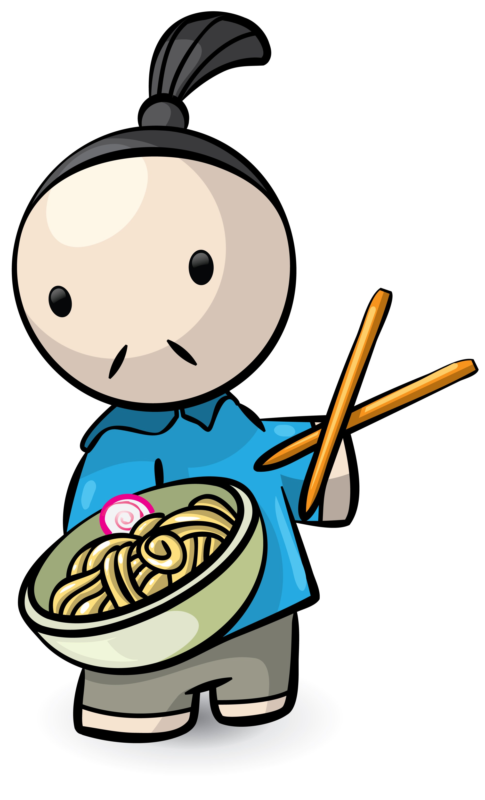 hight resolution of chinese person clipart