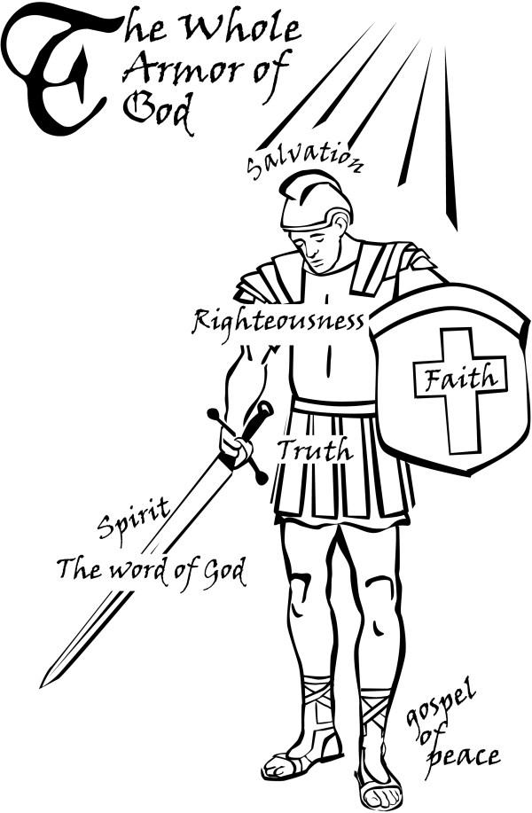 20 Prayer Armor God Clip Art Ideas And Designs