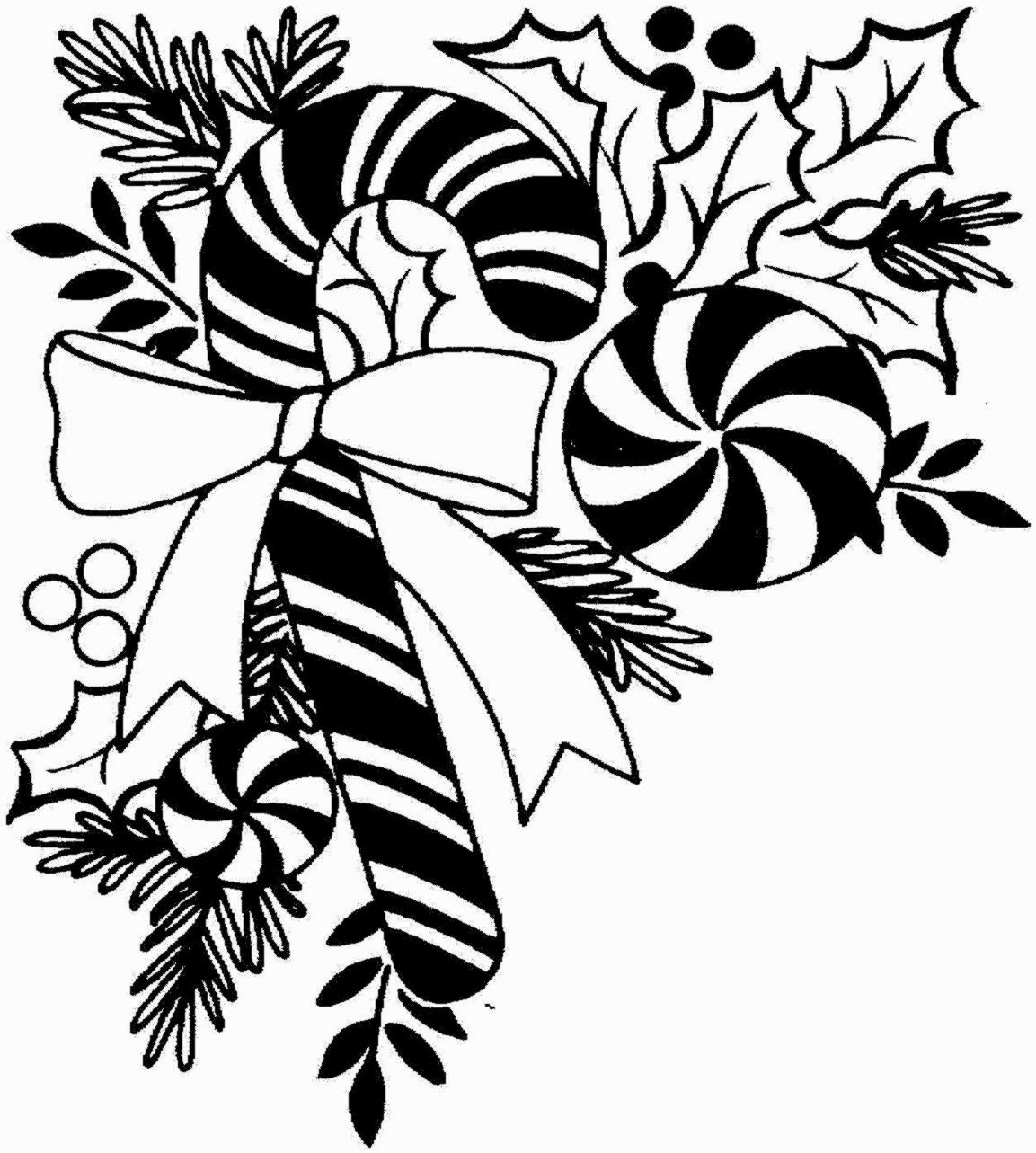 Christmas T Border Clipart Black And White