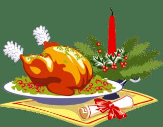clipart holiday roast dinner christmas clipground