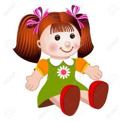clipart dolls doll vector christmas clipground
