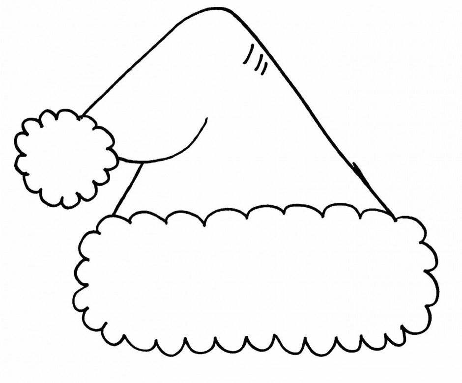 christmas hat clipart black and white 20 free Cliparts