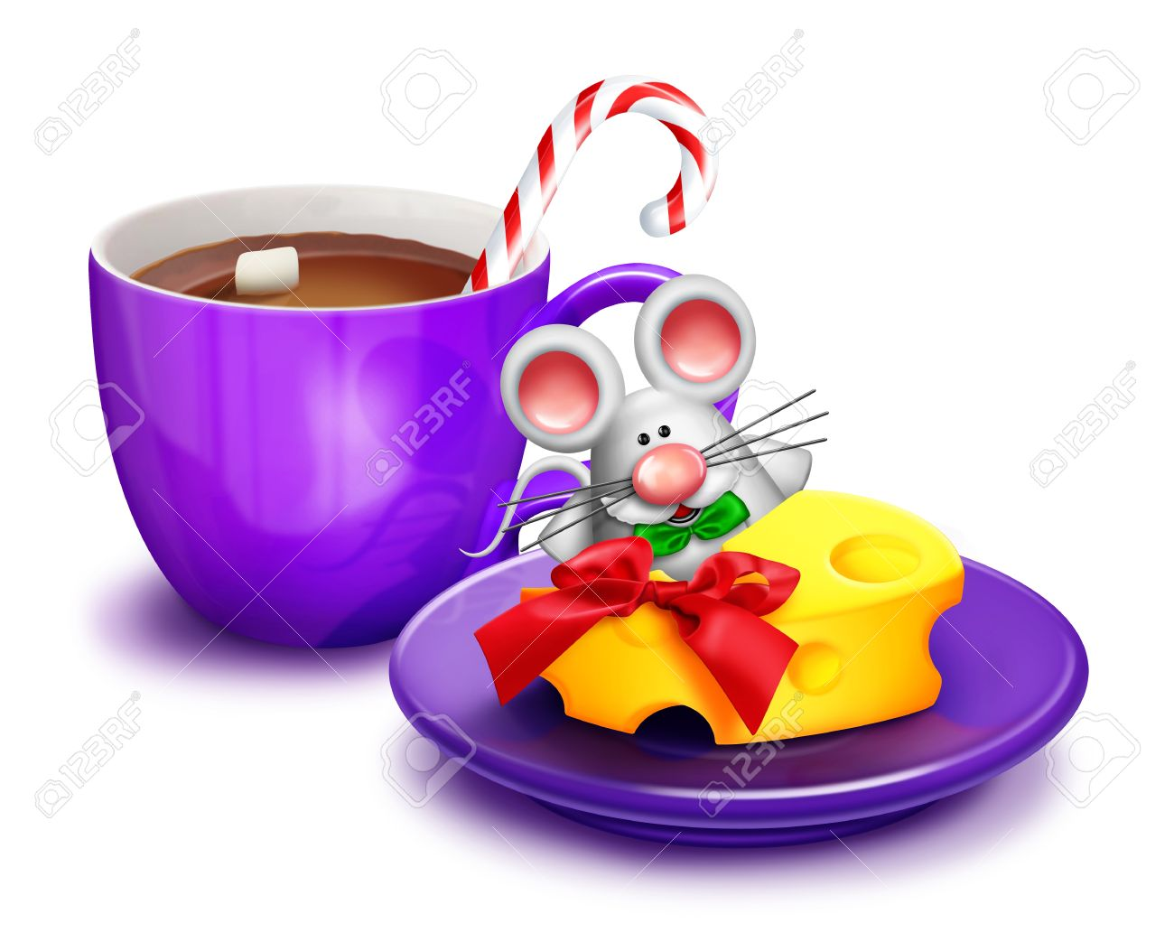 Christmas Mouse And Cheese Clipart 20 Free Cliparts