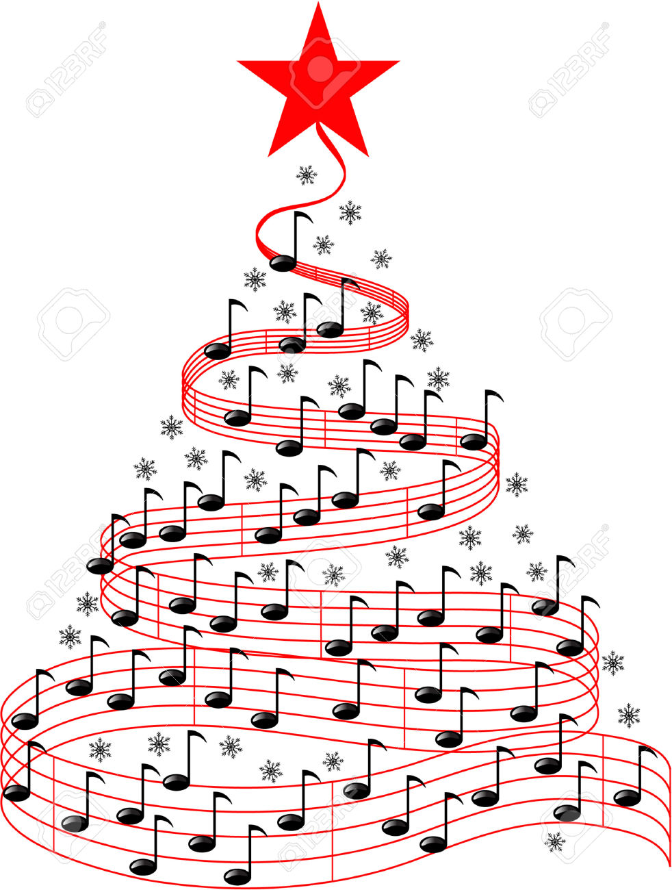hight resolution of christmas music notes clipart christmas music free clipart
