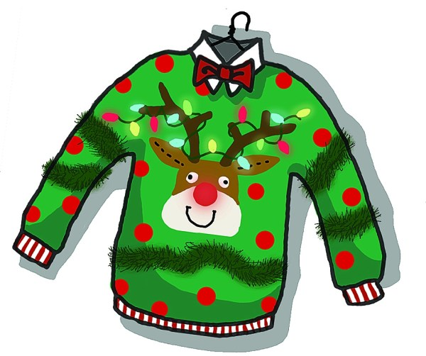 christmas sweater clipart