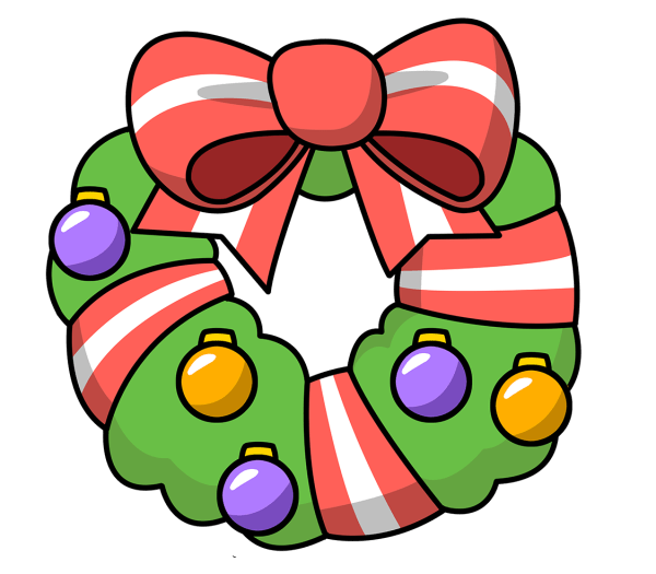 free christmas heart clipart