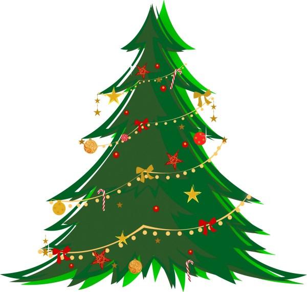 Free Transparent Christmas Tree Clip Art