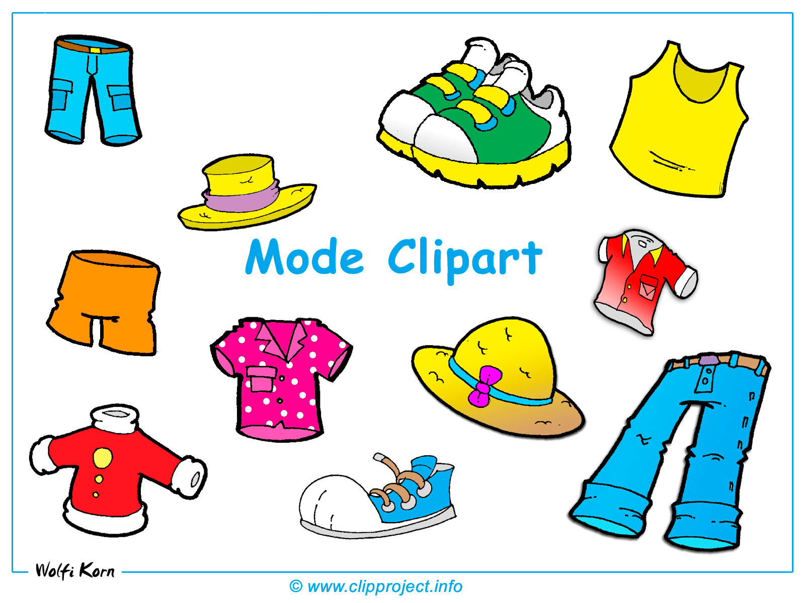 Clothes Clipart 20 Free Cliparts