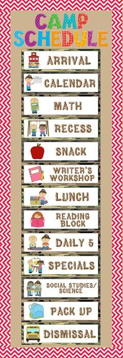 classroom picture schedule clipart  Clipground