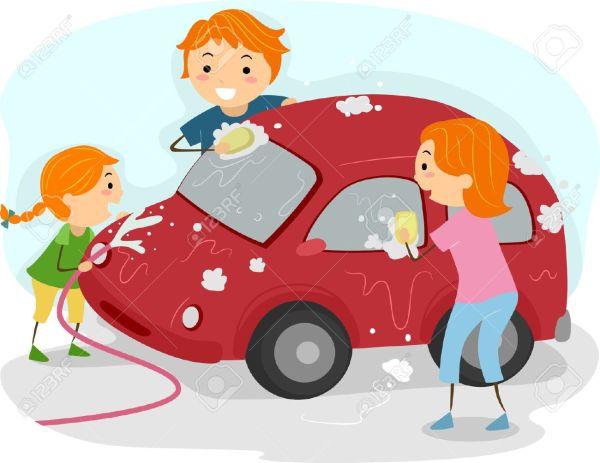 Car Washing Clip Art
