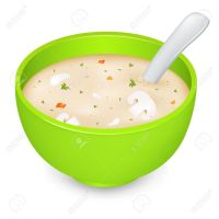 Clear broth clipart - Clipground
