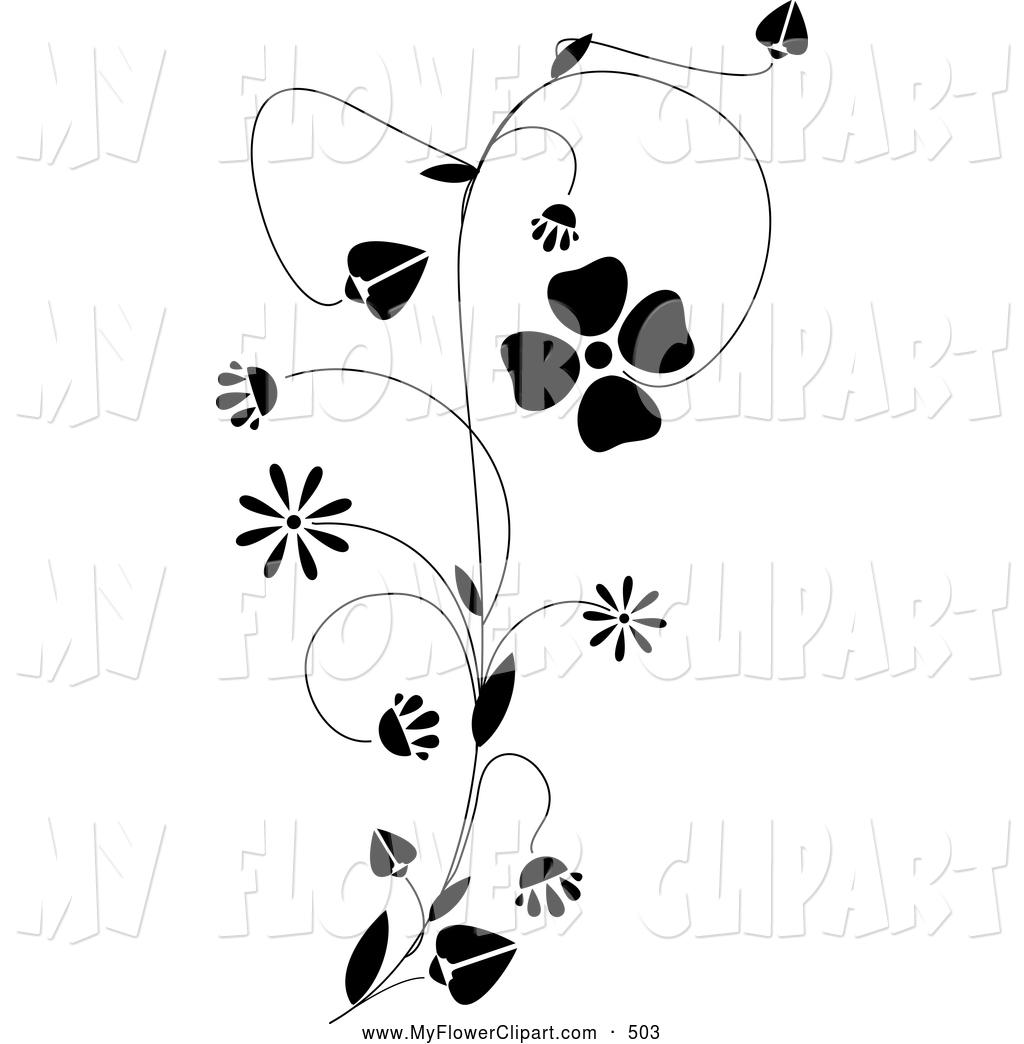Climbing Flower Clipart