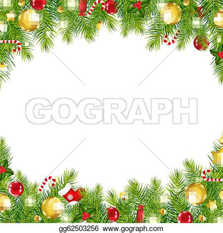 clip art border christmas free